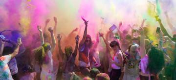 Novacroft team comes together to celebrate Holi festival of colours
