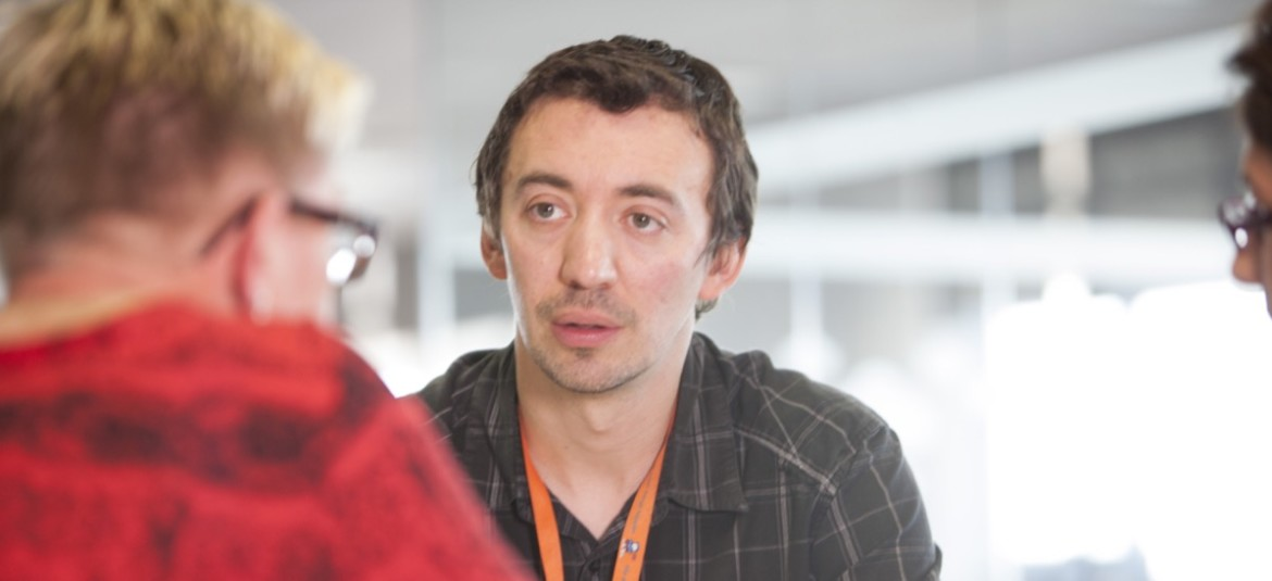 Jeremy Cunnington, Solutions Manager, with us since 2001
