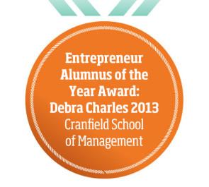 Entrepreneur Alumnus of the Year Award: Debra Charles 2013 Cranfield School of Management