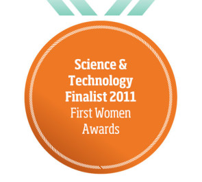 Science & Technology Finalist 2011 First Women Awards