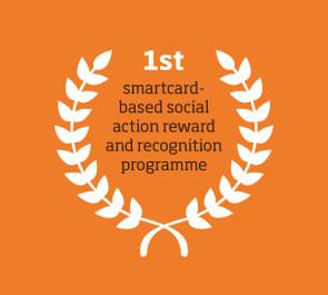 1st smartcard-based social action reward and recognition programme