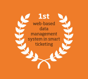 1st web-based data management system in smart ticketing