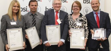 Novacroft recognised for record-breaking triple BSI standard implementation