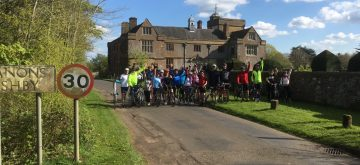 Riding for Hope, challenging themselves