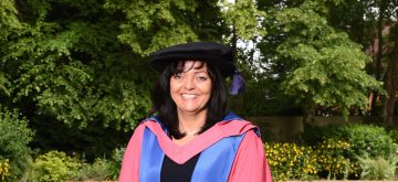 Debra Charles receives Honorary Doctorate from Cranfield University