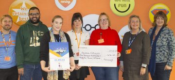 £1494 raised for local fund tackling child poverty by Novacroft team