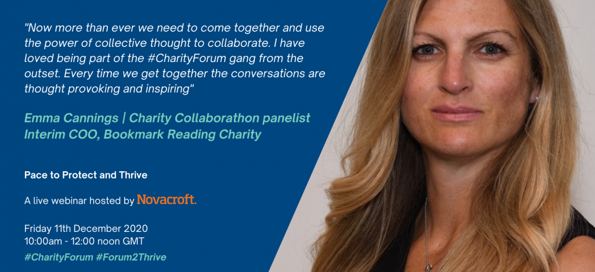 Emma Cannings – Charity Collaborathon panelist