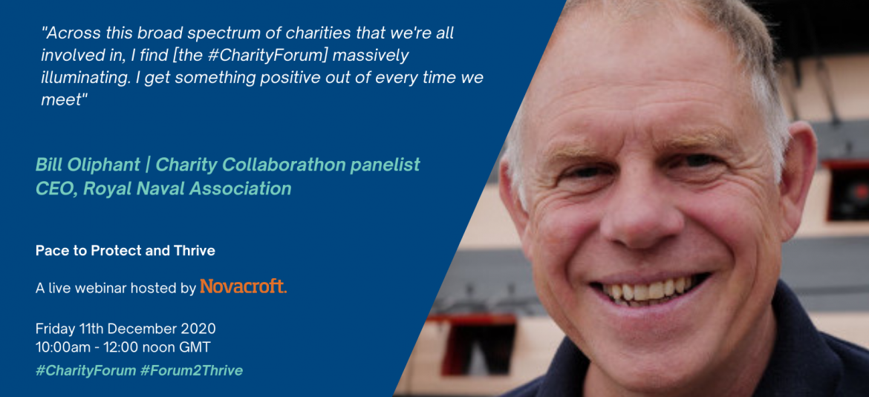 Bill Oliphant Charity Collaborathon panelist