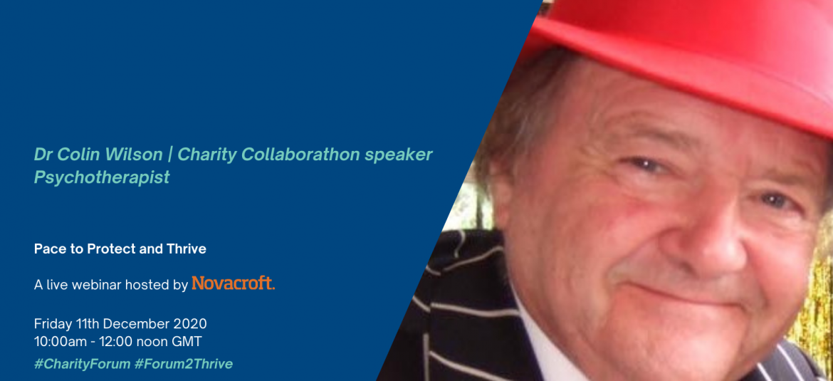 Dr Colin Wilson – Charity Collaborathon speaker